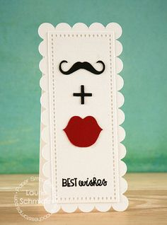 fun style wedding card