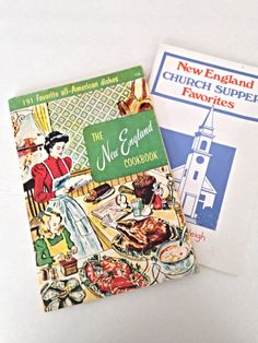 New England Cookbook, New England Church Supper Favorites