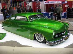 Oz Welch's 1949 Mercury - Bad Apple. Even though it's green, I'd still rock this bad boy.