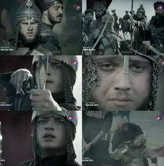 Muhteşem Yüzyıl,Şehzade Bayezid ve Şehzade Selim'in savaşı sahnesi.