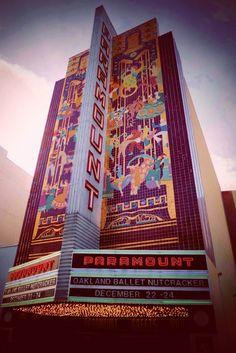 THE PARAMOUNT THEATRE, AN ART DECO MASTERPIECE    Friday night, March 9, Alfred Hitchcock's Vertigo (1958) will screen at Oakland, Ca...