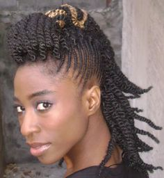 Mohawk Hairstyles for Black Women | Braided Mohawk Hairstyles For Black Women Pictures