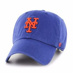 new concept 2ad08 fff6a New York Mets Clean Up Royal 47 Brand Adjustable Hat - Great Prices And  Fast Shipping at Detroit Game Gear - New York Mets Clean Up Royal Hat
