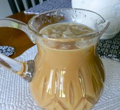 Easy Iced Coffee...Ahhhh....a refreshing treat on a warm and sunny day! You CAN make it as good as Starbucks