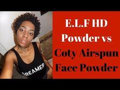 ELF HD vs Coty Airspun Face Powder
