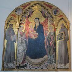 Sano di Pietro - Maestà e Santi - Siena, Pinacoteca Nazionale