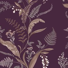 Cembra Plum wallpaper by Albany