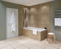 Bathroom tiles or panels