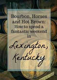 Bourbon, Horses and Hot Brown: 24 Hours in Lexington, Kentucky!- The Daily Adventures of Me #travel #thesouthUS #USTravel #TBIN #visitKentucky #Kentucky