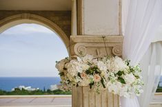Elegant Cyprus wedding in Ayia Napa  | Elena & Roy   Photography by http://isaiaxoreve.com/vendors/georgiadis-photography  Decor and Flowers by http://isaiaxoreve.com/vendors/fresh
