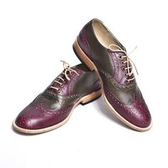 Oxfords Women's Red Green, $199, now featured on Fab.
