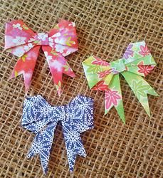 Origami Bows -  3pk Origami Bow, Napkins, Stationery, Bows, Tableware, Products, Stationeries, Stationery Shop, Arches