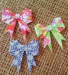Origami Bows -  3pk