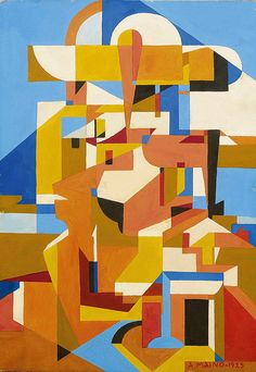 Angelo Maino, Untitled geometric, 1925   Flickr - Photo Sharing!
