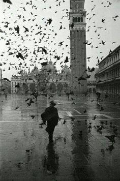 Piazza St Marco, 1952 Dmitri Kessel