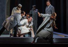 Gerald Finley as Amfortas in The Royal Opera's Parsifal © ROH / Clive Barda 2013