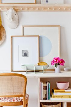 DIY Furniture Project: How to Build a Minimal Modern Desk with Storage for Under $100. Click through for the step by step tutorial, including exact wood dimensions for recreating this desk at home. #diy #diydesk #desk #wooddesk #organicmodern #interiors #diyfurniture