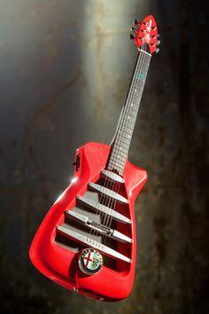 La guitarra de Alfa Romeo -Custom
