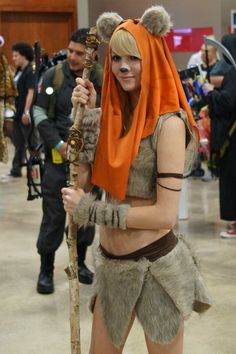 Ewok Girl by digitalrex85 on deviantART