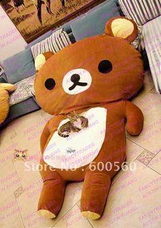 I found 'Giant Bed Rilakkuma soft plush Japanese Kawaii' on Wish, check it out!