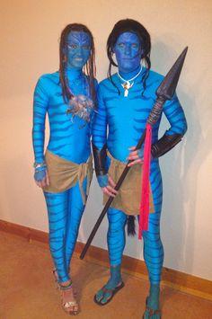 couples Halloween costume ---- Avatar