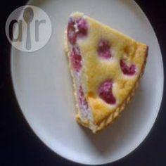 Himbeertorte mit weißer Schokolade und Mascarpone @ de.allrecipes.com