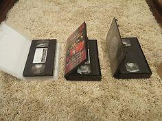 3 VHS Video Cassette Tapes SLIPKNOT Russian Edition
