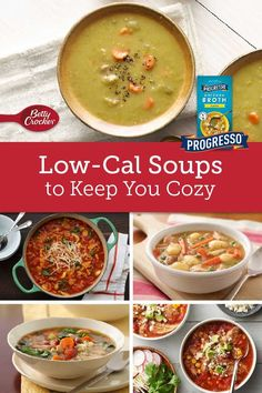 No matter the season, these 15 lighter recipes prove how truly tasty low-cal soups can be! Bowl Of Soup, Soup And Salad, Fall Recipes, Soup Recipes, Summer Fall, Fall Winter, Betty Crocker, Palak Paneer, Soups And Stews