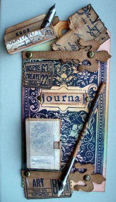 Vintage Creative Art: Journal Tag