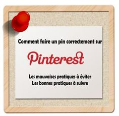 ► Les bonnes pratiques à suivre et celles à éviter sur #Pinterest : Comment Faire un Pin Correctement ! ► lire l'article : http://tomatejoyeuse.blogspot.com/2012/12/pinterest-comment-faire-un-pin.html