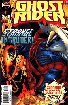 GHOST RIDER #81, MARVEL, 1.997. USA