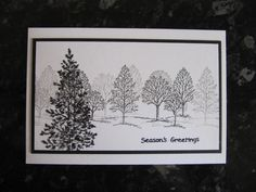 Made with Stampin Up's U Lovely as a Tree