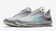 """new product 40409 f06f4 Off-White x Nike Air Max 97 """"Menta"""" Is Dropping Early November 2018 -  Sneaker Finders"""