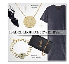 """IsabelleGraceJewelry.com"" by monmondefou ❤ liked on Polyvore featuring Jil Sander, Yves Saint Laurent and IsabelleGraceJewelry"