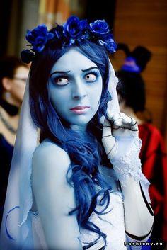 Образ на Хеллоуин Труп невесты: наряд, прическа, макияж, видео-уроки