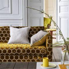 Designers Guild, Interior Design Living Room, Living Room Decor, Bedroom Decor, Interior Design Companies, Small Living Rooms, Furniture Arrangement, Home Furniture, Furniture Dolly