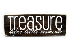 "Tattoo Ideas & Inspiration - Quotes & Sayings | ""Treasure life's little moments"" 