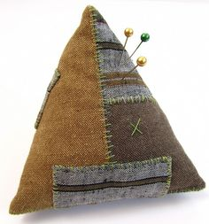 Rural Retro Pincushion - Victoria Gertenbach of The Silly BooDilly and Rural Retro Designs.