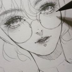 Pencil drawing in 2019 art drawings, anime drawings ske Art Drawings Sketches Simple, Pencil Art Drawings, Realistic Drawings, Cute Drawings, 3d Drawing Tutorial, Pencil Drawing Tutorials, Art Tutorials, Drawing Techniques, Drawing Tips