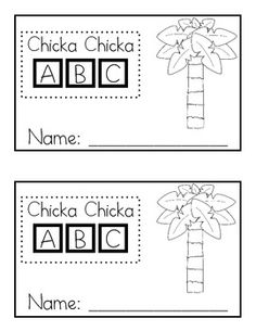 image regarding Chicka Chicka Boom Boom Printable Book identify 68 Easiest Chicka Chicka Growth Increase Commencing of Yr photographs within