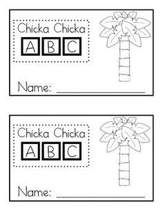 math worksheet : 1000 images about chicka chicka boom boom on pinterest  letters  : Chicka Chicka Boom Boom Worksheets For Kindergarten