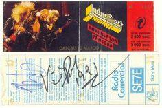 Bilhete concerto Judas Priest em Cascais