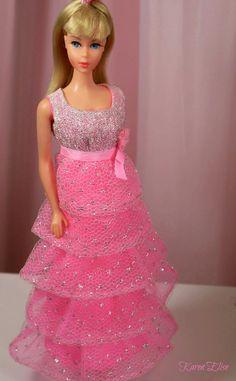 """TNT Barbie wearing """"Romantic Ruffles"""""""