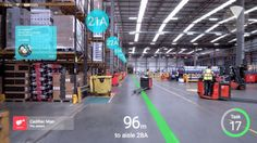 Augmented Reality goggles will help you at work Augmented Reality Technology, Futuristic Technology, Cool Technology, Technology Gadgets, Energy Technology, Medical Technology, Google Glass, Smartwatch, Microsoft