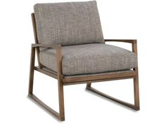 The Talia exposed wood accent chair features an exposed wood frame and sleek modern lines. Add this fabric chair to any space in 100 fabric colors. Club Furniture, Ikea Furniture, Modern Furniture, Furniture Design, House Furniture, Quality Furniture, Furniture Ideas, Chair Fabric, Chair Cushions