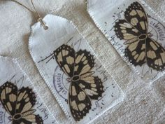 Butterfly / moth tags