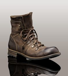 AllSaints Military Boots. Durable leather German military inspired ...