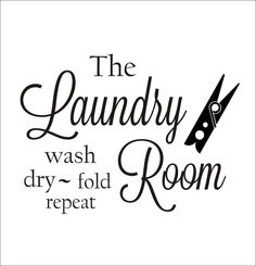 This Laundry Room Vinyl Wall Decal with Clothespin Fun Vinyl Decor is just one of the custom, handmade pieces you'll find in our wall decals & murals shops. Laundry Room Quotes, Laundry Room Decals, Laundry Room Signs, Laundry Rooms, Laundry Logo, Laundry Humor, Vinyl Decor, Vinyl Wall Decals, Window Decals