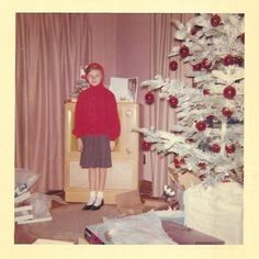 Teenager in the also had many hobbies today. They liked to hang out, party with friends, and especially go to bars and discos. So wh. Ghost Of Christmas Past, Flocked Christmas Trees, Old Christmas, Christmas Books, Christmas Music, Retro Christmas, Christmas Morning, Christmas Tree Ornaments, Vintage Christmas Photos