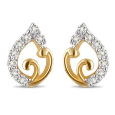 Denise Diamond Earring Made in Real Diamond and 18kt Gold.Customize as Per your Style and Budget.Get Exact Diamond Quality and weight.